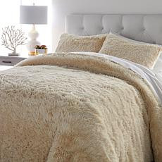 Soft & Cozy 3-piece Faux Fur Comforter Set