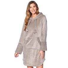Soft & Cozy Hooded Comfort Tunic with Kangaroo Pocket