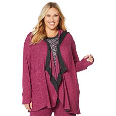 Soft & Cozy Hooded Wrap with Thumbhole Cuffs