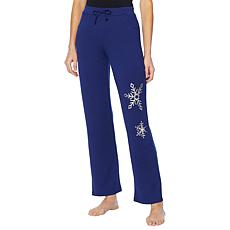 Soft & Cozy Loungewear Holiday French Terry Sweatpant