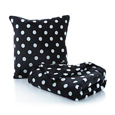 Soft & Cozy Plush Throw and Pillow