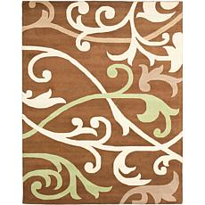 Soho Brown-Multi 7x9 Rug