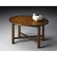 Solid Wood Butler Table with Coffee Table