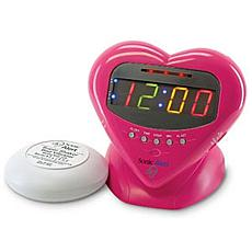Sonic Bomb Sweetheart Alarm Clock with Bed Shaker
