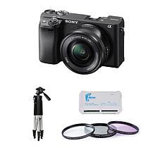 Sony Alpha a6400 24MP Mirrorless Digital Camera Bundle