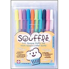 Souffle Opaque Puffy Ink Pens by Sakura Inc. - 10-pack