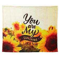 South Street Loft Inspirational Plush Throw