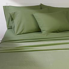 South Street Loft Plush Blanket and 6-piece Microfiber Sheet Set