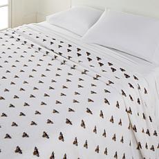 South Street Loft Printed Plush Blanket