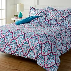 South Street Loft Seaside 3-piece Printed Comforter Set