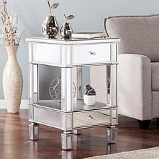 Southern Enterprises Aldwych Mirrored Side Table