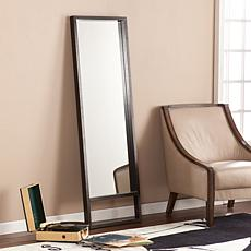 Southern Enterprises Baird Leaning Mirror - Ebony Stain