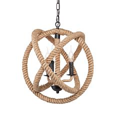 Southern Enterprises Bellamy 3-Light Orb Pendant Lamp