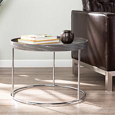 Southern Enterprises Belstrom Round End Table