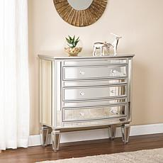 Southern Enterprises Cardwell Mirrored Storage Chest
