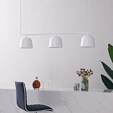 Southern Enterprises Maitland 3-Light Pendant - White