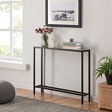 Southern Enterprises Pinsley Narrow Console Table - Black