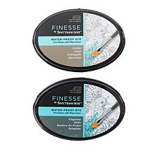Spectrum Noir Finesse Ink Pads Flagstone & Pebble 2-pack