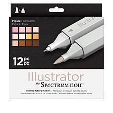 Spectrum Noir Illustrator Pens 12-pack