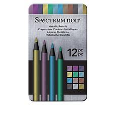 Spectrum Noir Metallic Pencils 12-pack