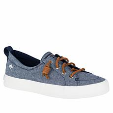 Sperry Crest Vibe Chambray Laced Slip-On Sneaker