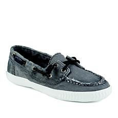 Sperry Sayel Away Washed Canvas Boat Shoe