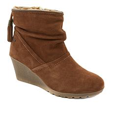 Sporto® Wind Waterproof Suede Wedge Bootie