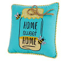 """Spring Collection Decorative Pillow - Home Sweet Home 10"""" x 10"""""""