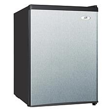 SPT 2.4 cu.ft. Compact Refrigerator Energy Star - Stainless Steel