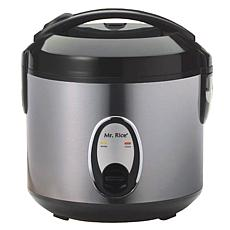 SPT 4-Cup Rice Cooker with Stainless Body