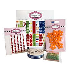 Stamps of Life Birthday Craft Embellishment Kit