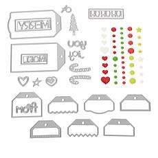 Stamps of Life Christmas Create-A-Tag Die Set by Stephanie Barnard