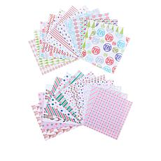 Stamps of Life Double-Sided Holiday Pattern Paper Pad 2-pack