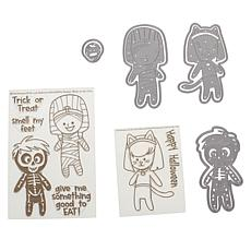Stamps of Life Halloween Kids Stamps and Dies - Set of 3