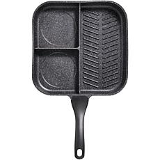 "Starfrit ""The Rock"" 3-in-1 Breakfast Pan"