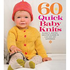 "Sterling Publishing ""60 Quick Baby Knits"" Book"