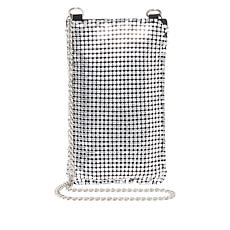 Steve Madden Pisa Chainmail Phone Crossbody