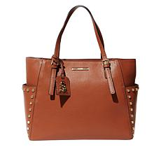Steve Madden Sommer Pebbled Tote with Studs