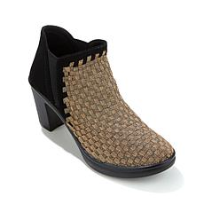 "Steven by Steve Madden ""Enda"" Woven Bootie with Heel"