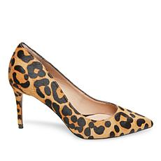 Steven by Steve Madden Local Leopard-Print Hair Calf Pump