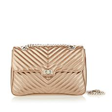 Steven Madden Miles Quilted Chevron Flap Bag