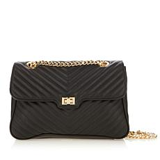 Steven Madden Misty Quilted Chevron Flap Bag