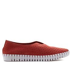 Steven Natural Comfort Salsa Nubuck Leather Slip-On Sneaker