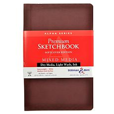 Stillman & Birn Alpha Series Softcvr Sketchbook 5.5x8.5 Portrait 96pgs