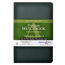 Stillman & Birn Delta Series Softcvr Sketchbook 5.5x8.5 Portrait 56pgs