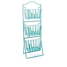 StoreSmith 3-Tier Storage Market Baskets with Stand