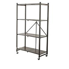 StoreSmith 4-Tier Folding Storage Rack
