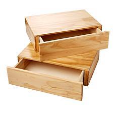 StoreSmith Secret Storage Shelf - Set of 2