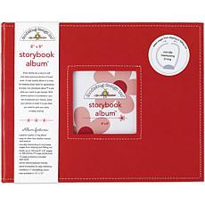 """Storybook Album 8"""" x 8"""" - Beetle Black"""
