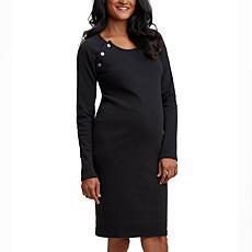 Stowaway Collection Raglan Maternity and Nursing Dress